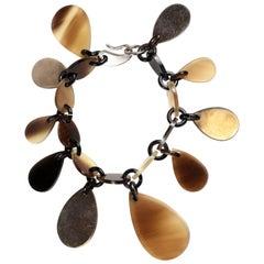 Hermès Raji Horn Bracelet