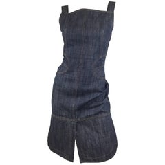 Azzedine Alaia Denim Dress