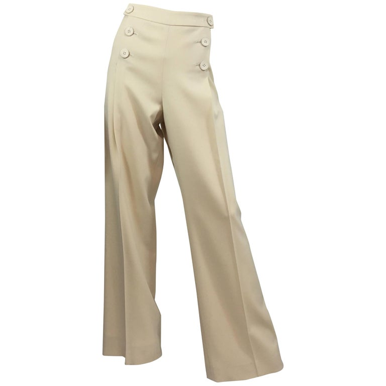 Oscar de la Renta Sailor Pants