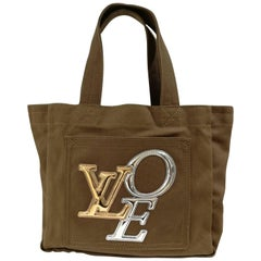 Louis Vuitton Textile LOVE Limited Edition handle bag
