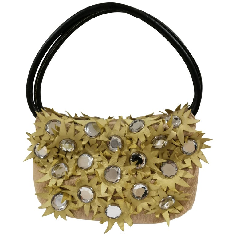 Sonia Rykiel daisies limited edition shoulder bag For Sale