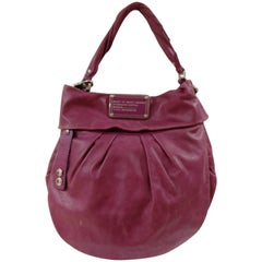 Marc Jacobs Purple leather Shoulder Bag