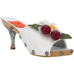 Christian Lacroix Collector Museum Summer Shoes 90s