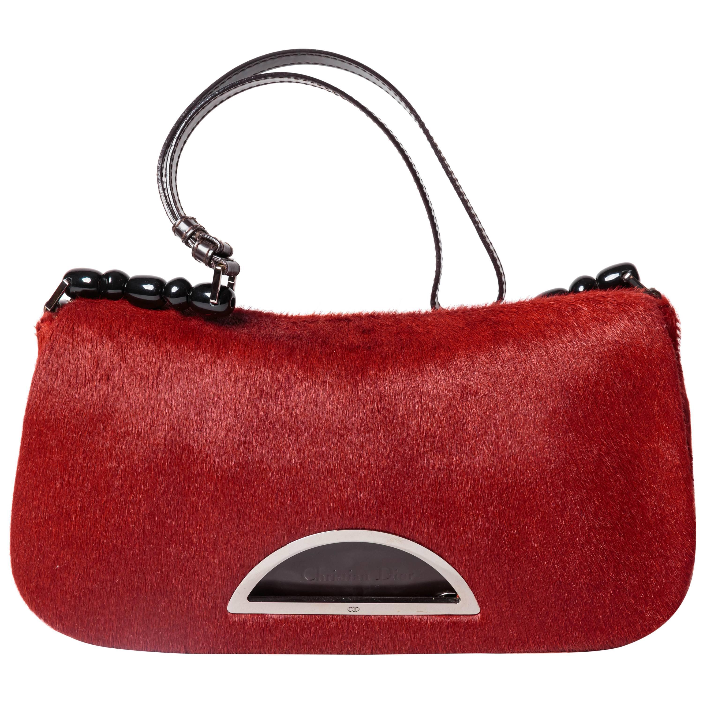 Dior Ponyskin Shoulder Bag vBeTIJe