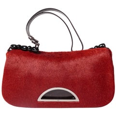 Christian Dior Ponyskin Shoulder Bag