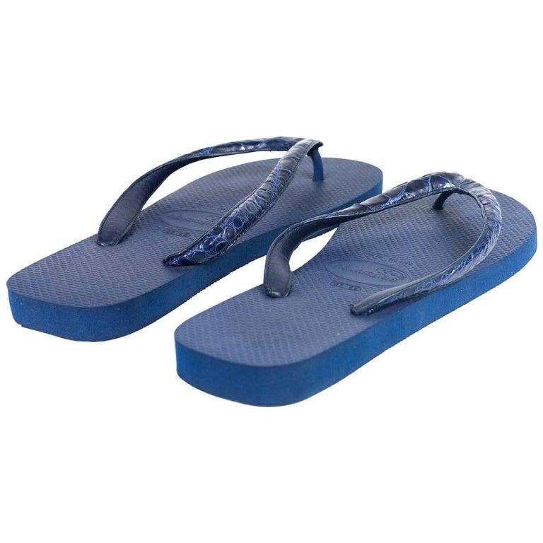 21d848ddbfbc0a Valentino Garavani Mens Leather Strap Thong Sandals For Sale at 1stdibs