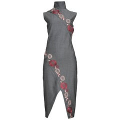 Runway Alexander McQueen 2001 Floral Cheongsam Inspired Dress