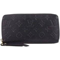 Louis Vuitton Zippy Wallet Monogram Empreinte Leather