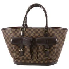 Louis Vuitton Manosque Handbag Damier GM