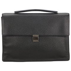 Louis Vuitton Black	 Porte-Document Angara Briefcase