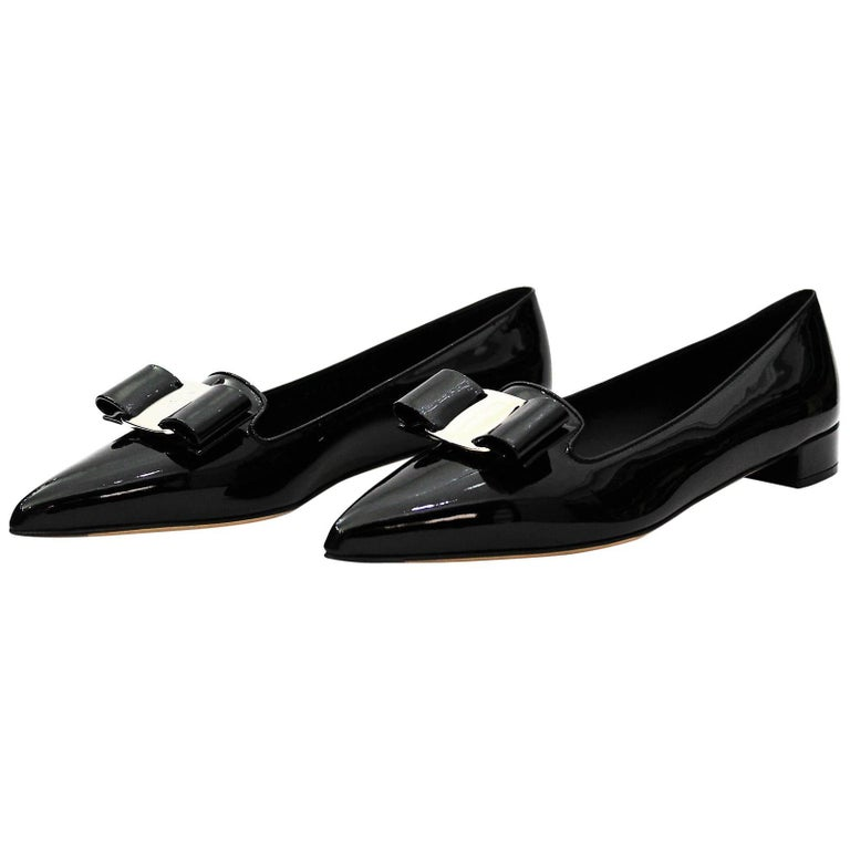 Salvatore Ferragamo shoes Slip-on Vara Bow
