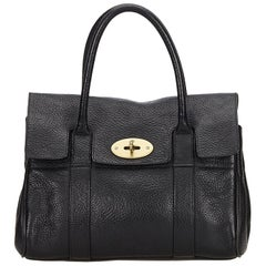 Mulberry	Black Leather Bayswater