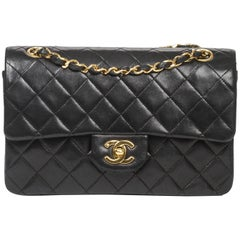 Chanel Classic Double Flap Leather Bag