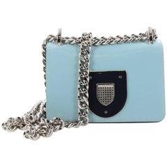Christian Dior Diorama Club Flap Bag Leather Small