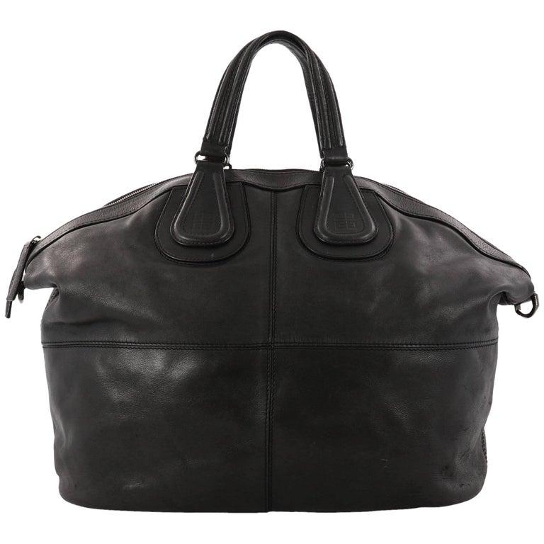 Givenchy Nightingale Satchel Leather Large