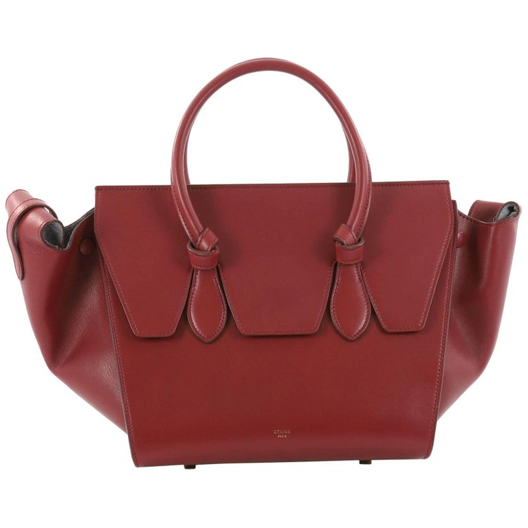 Celine Tie Knot Tote Smooth Leather Medium