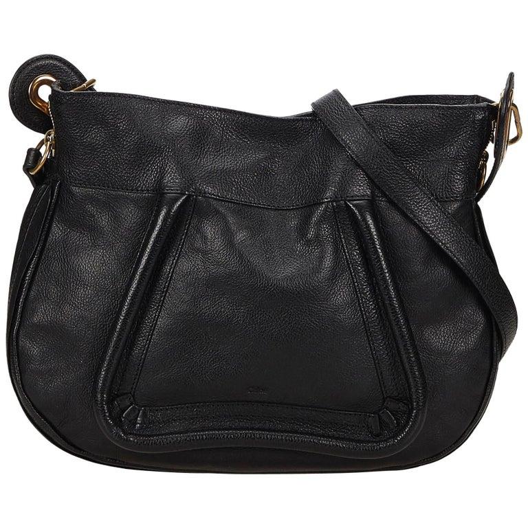 Chloe Black Leather Paraty