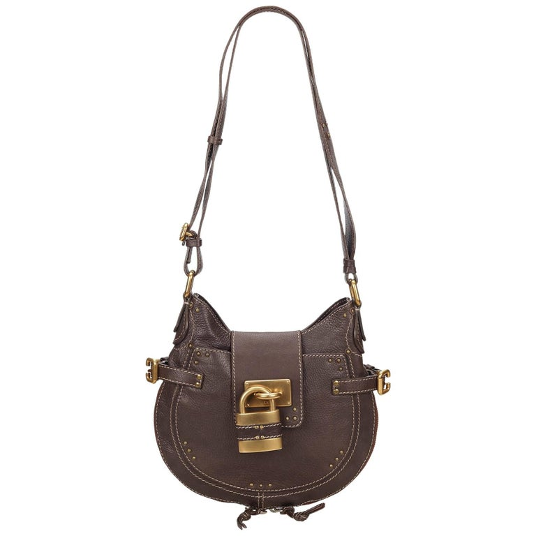146dcad7f5 Chloe Brown Leather Paddington Shoulder Bag at 1stdibs