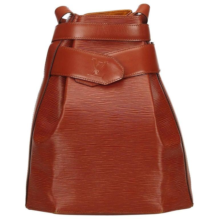Louis Vuitton Brown Epi Sac dEpaule