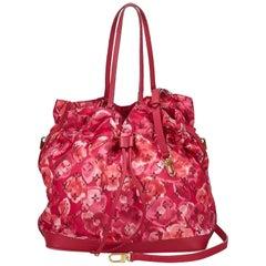 Louis Vuitton Pink Monogram Ikat Floral Nylon Noefull
