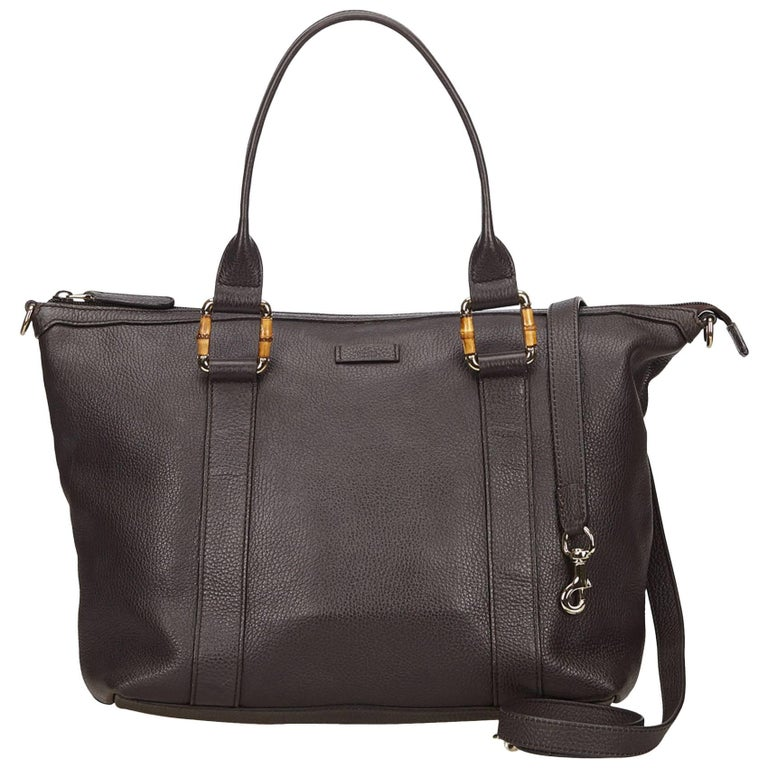 Gucci Brown Leather Satchel