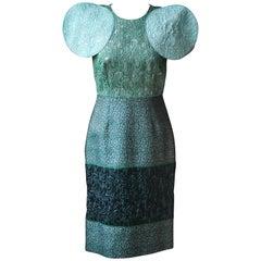Dolce & Gabbana Structured Brocade Dress