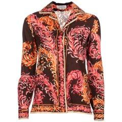 1970s Emilio Pucci Vintage Floral Suit