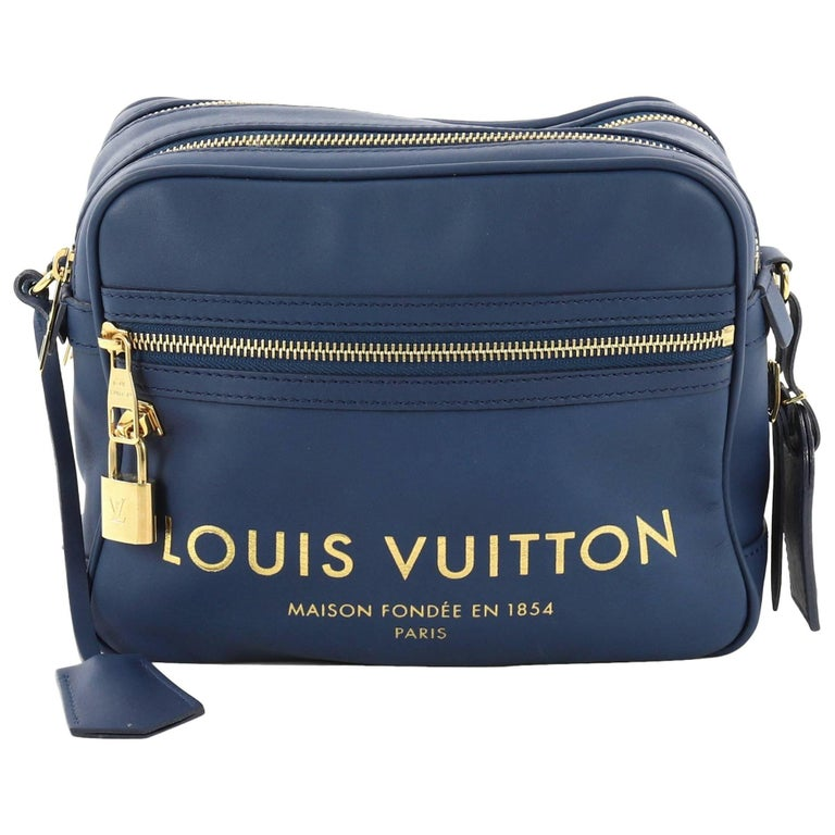 433afb016f39 Louis Vuitton Flight Paname Takeoff Bag Leather Small at 1stdibs
