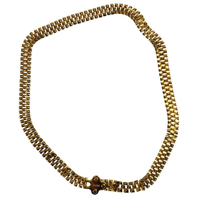 Pucci Stud Link Belt For Sale
