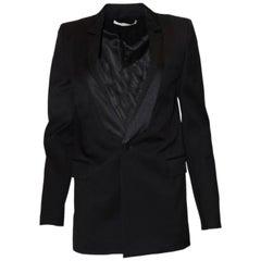 Givenchy Black Wool Blazer Sz FR36