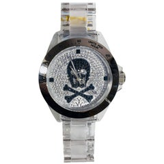 Toy Watch with Skull Face