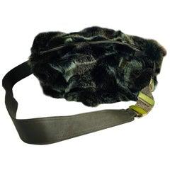 Santesteban Fur Bag