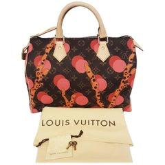 Louis Vuitton Speedy Ramages Bag Print 2015 Cruise Collection