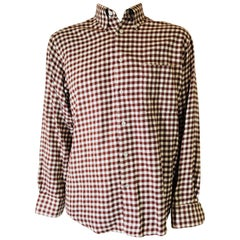 Mens Hermes Button Up
