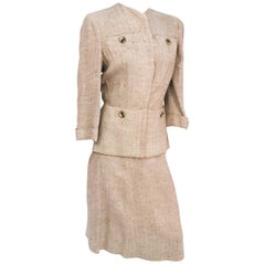 1930s Herringbone Wool Suit