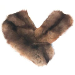 1960s Sable Fur Oversized Collar