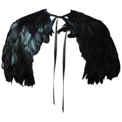 Chloé by Stella McCartney Feather Textured Cape, 2001
