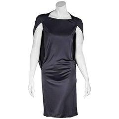 Slate Maison Margiela Cape-Back Dress