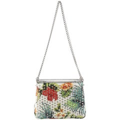 Christian Louboutin Triloubi Chain Bag Printed Leather Small