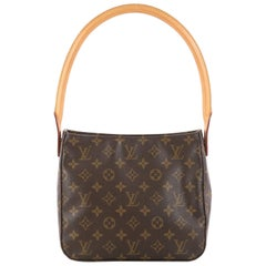 Louis Vuitton Looping Handbag Monogram Canvas MM