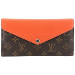 Louis Vuitton Marie-Lou Monogram Canvas and Epi Leather Long Wallet