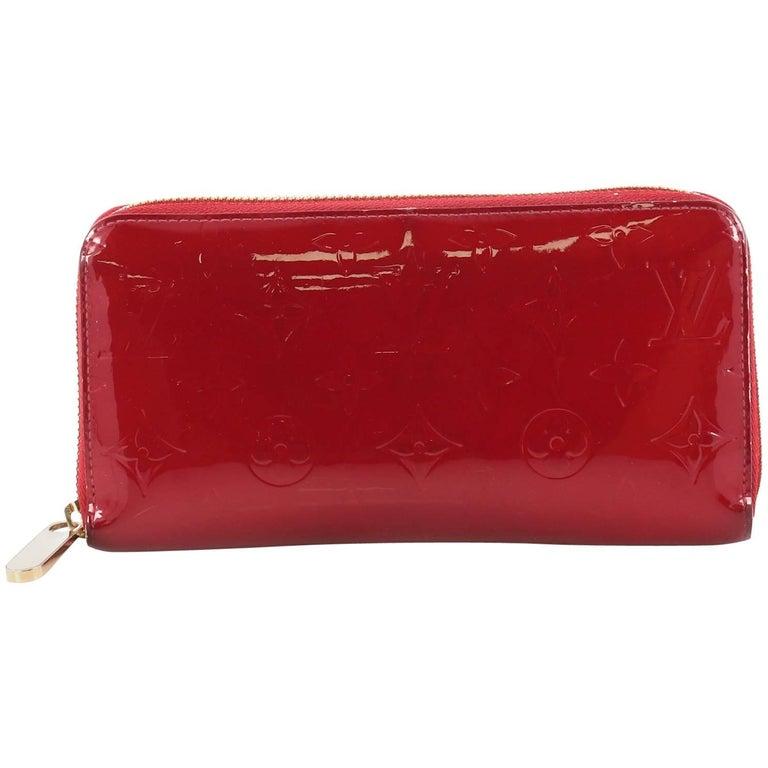 22dd6513aee0 Louis Vuitton Zippy Wallet Monogram Vernis at 1stdibs