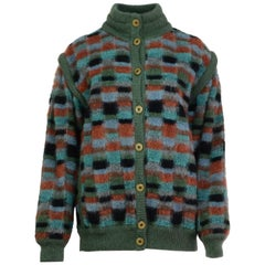 Missoni Multicolor Reversible Sweater Jacket