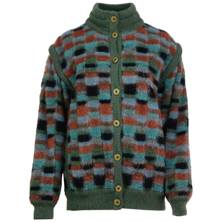 Missoni Multicolor Reversible Sweater Jacket