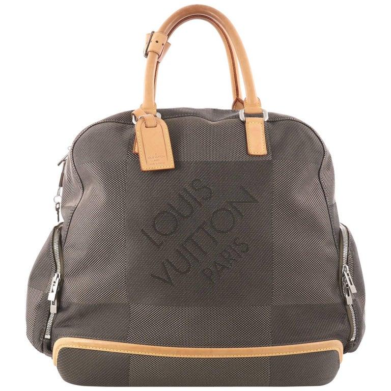 Louis Vuitton Geant Aventurier Polaire Handbag Limited Edition Canvas