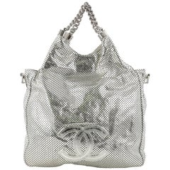 Chanel Rodeo Drive Perforated Leather Small Hobo Bag