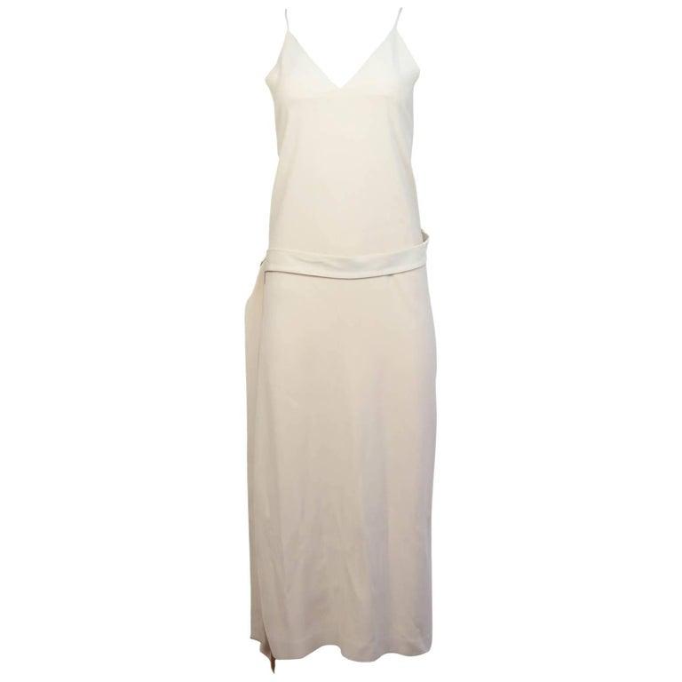 Cedric Charlier Blush Wrap Maxi Dress Sz 6