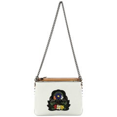 Christian Louboutin Triloubi Chain Bag Embellished Leather Small