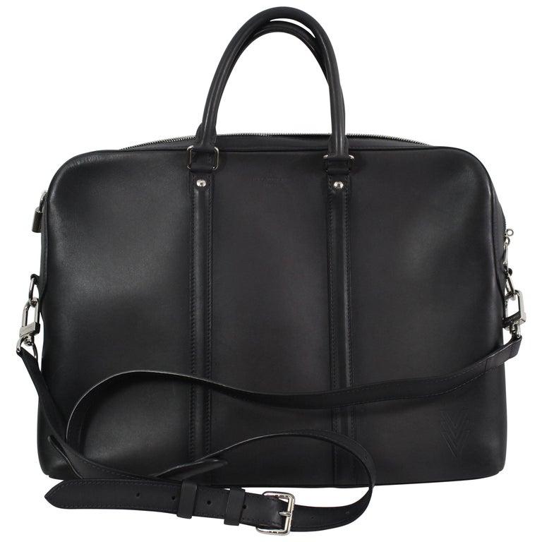 Louis Vuitton Ombré Leather Briefcase.  retails 4700$