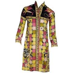 Multicolor Vintage Emilio Pucci Printed Cotton Dress